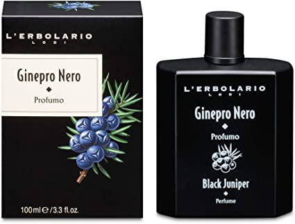 L'Erbolario, Profumo Uomo Ginepro Nero, 100 ml