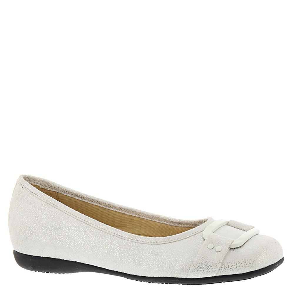 Trotters Women's Sizzle Signature Ballet Flat B01HN16OQ2 10 SS US White Pearl