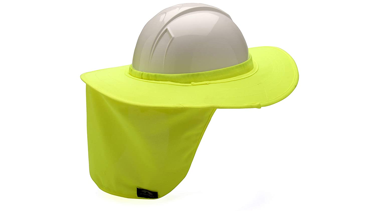7af15f09c Pyramex Safety HPSHADE30 Hard Hat Shade with Brim, Quilted, One Size, Lime