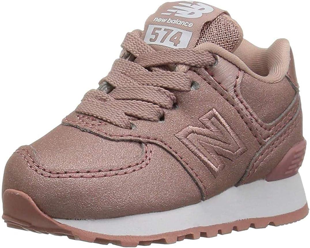Zapatilla New Balance 574 Niña Mujer Rosa: Amazon.es: Zapatos y complementos
