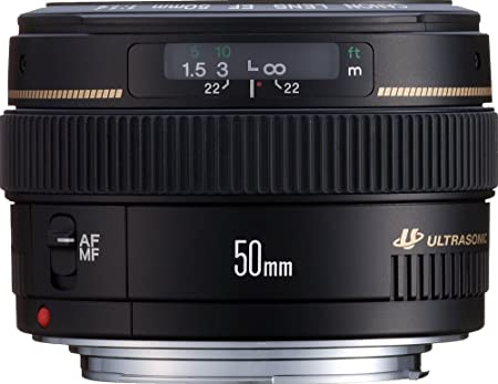 Canon EF 50mm f/1.4 USM - Objetivo para Canon (distancia focal ...