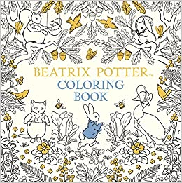 The Beatrix Potter Coloring Book Peter Rabbit 9780141377483 Amazon Books