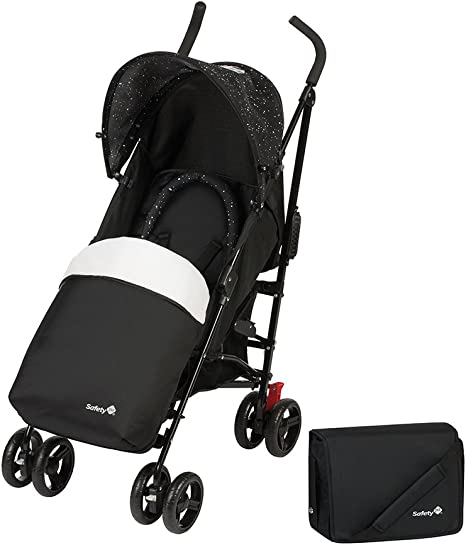 Silla de paseo ligera color Splatter Black Safety 1st Slim