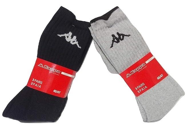 Kappa - Calcetines de deporte - para hombre gris 36/38
