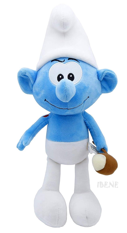 "Sunguptoy The Smurfs Plush Doll 15"" Cute Home Room Decor 38cm (Hefty)"