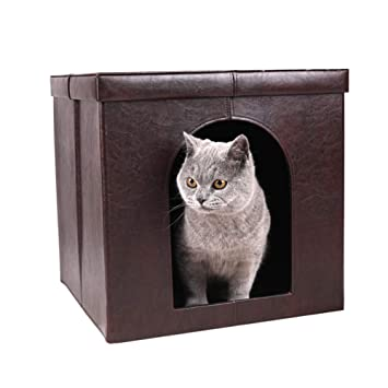 INEP Casa Plegable Multipropósito para Mascotas Casa para ...