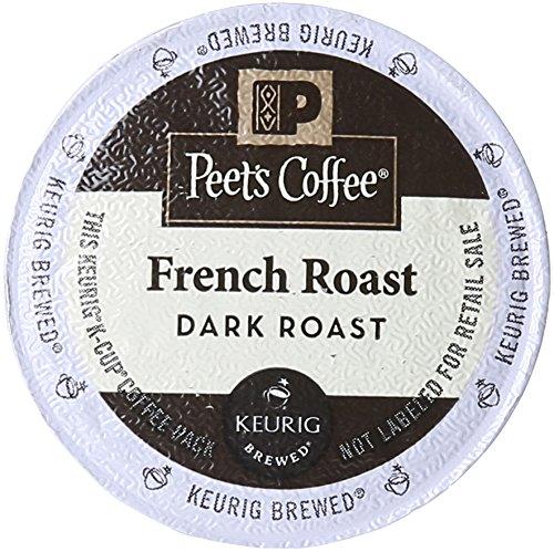 Peet's Coffee & Tea French Roast K-Cup Portion Pack for Keur