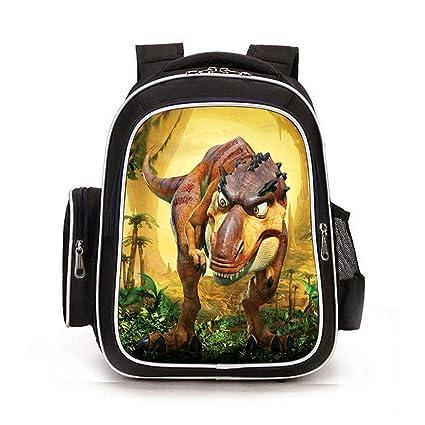 XIAODONG Unisex 3D Animal Print Mochila Dinosaur Child Backpack Child Mochila Boy Girl Primary School Bag,O-32 * 17 * 42cm: Amazon.es: Hogar