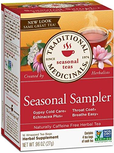 Traditional Medicinals Organic Seasonal Tea Sampler Variety