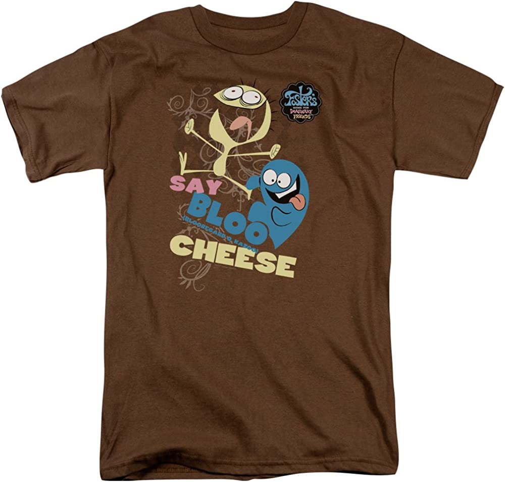 Foster's Home For Imaginary Friends Say Bloo Cheese Cartoon Network Adult Tee