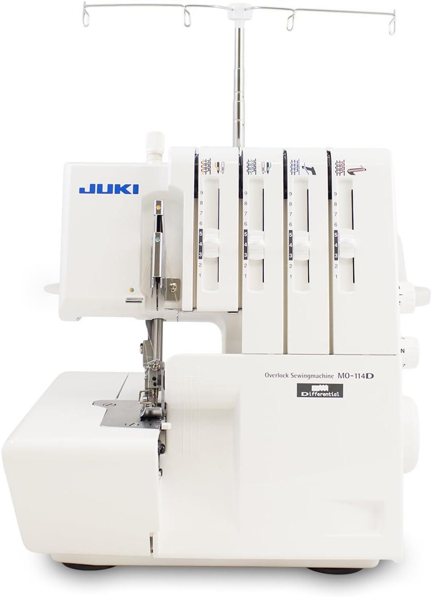 Juki MO-114D Serger Overlock - Máquina de overlock: Amazon.es: Hogar