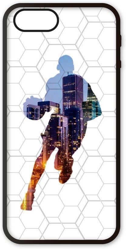 Funda móvil Compatible con iPhone 5/5s/SE Baloncesto Jugador ...