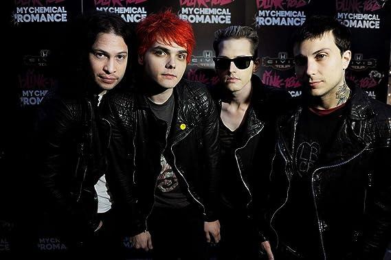 Amazon|My Chemical Romance MCR Gerard Way、フランク・iero、Mikey ...