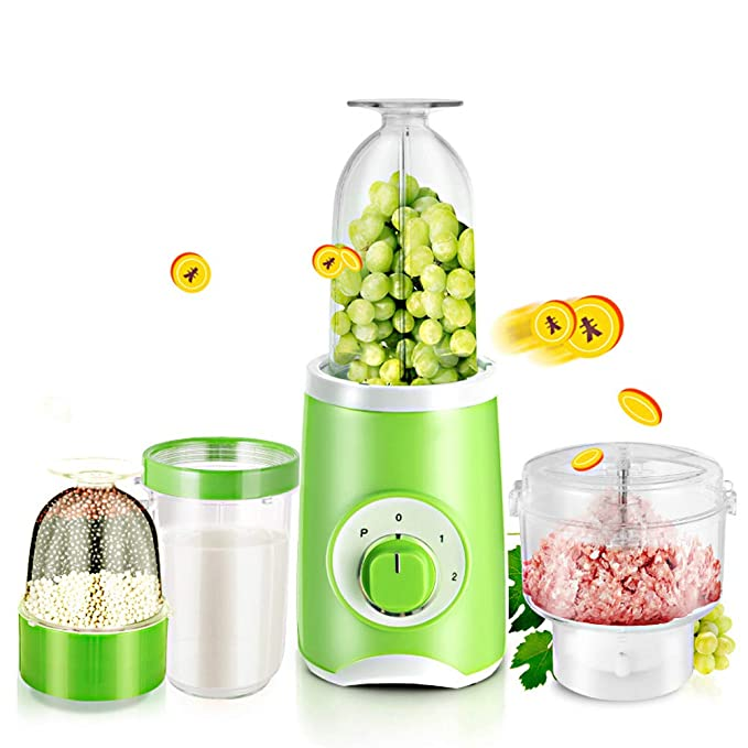 Rziioo Multipurpose Kitchen Food Processor,Blender Smoothie Maker with Stainless Steel Blades