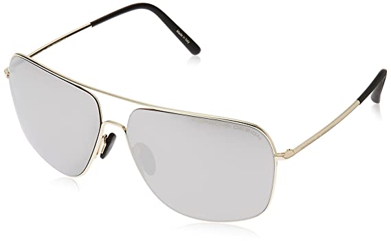2293b3441a674 Amazon.com  Porsche Design Men s P 8607 P8607 B Light Gold Fashion ...