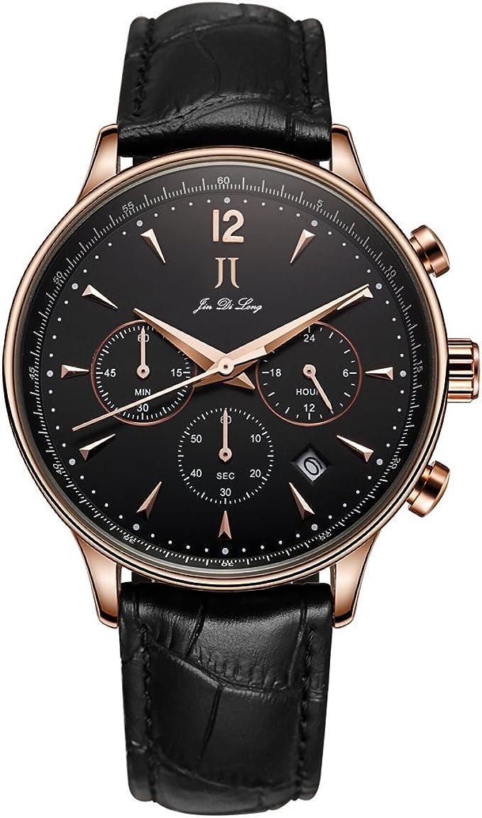 Jin Di Long Jj Reloj De Pulsera De Lujo Para Hombre Con