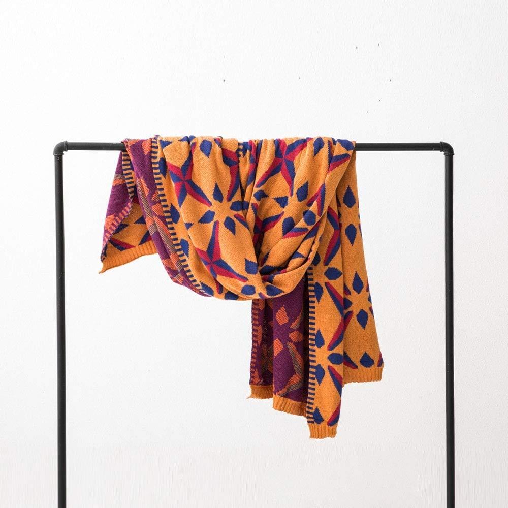 JOLLY シンプルソファタオル綿ニット毛布旅行レジャー毛布160×230Cm Orange【エネルギークラスA JOLLY】 (色 : : Orange) Orange B07Q36LB2W, 余市郡:91109068 --- ijpba.info