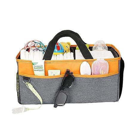 Skitior Apilable Baby Diaper Caddy Organizer Nursery Debris ...