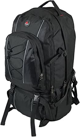 amaro 22004 Sahara Backpack Jumbo Oversize Hiking Travel Daytrip Backpack