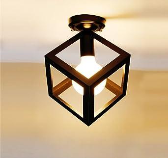 Métal Ltzzt Lampe Nickel De Mat Led Salle Plafonniers TJ3F1clK