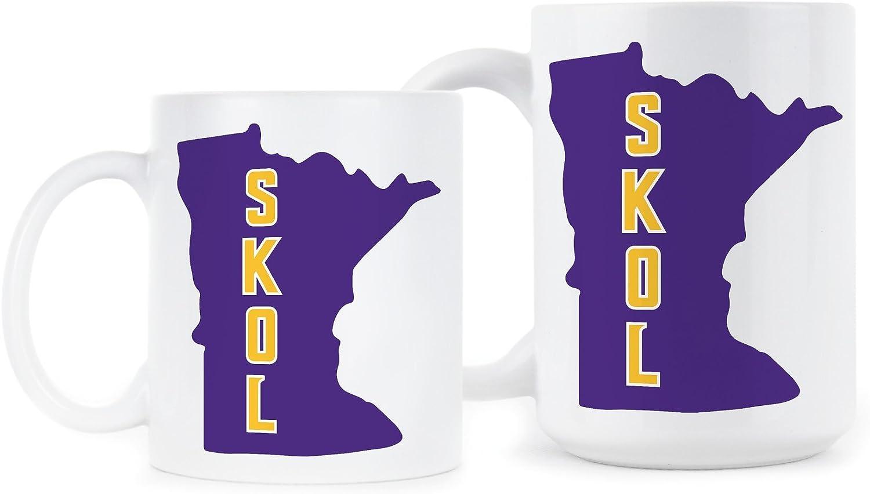 Minnesota Vikings Mug Skol Vikings Coffee Mugs Vikings Football Playoffs Gift