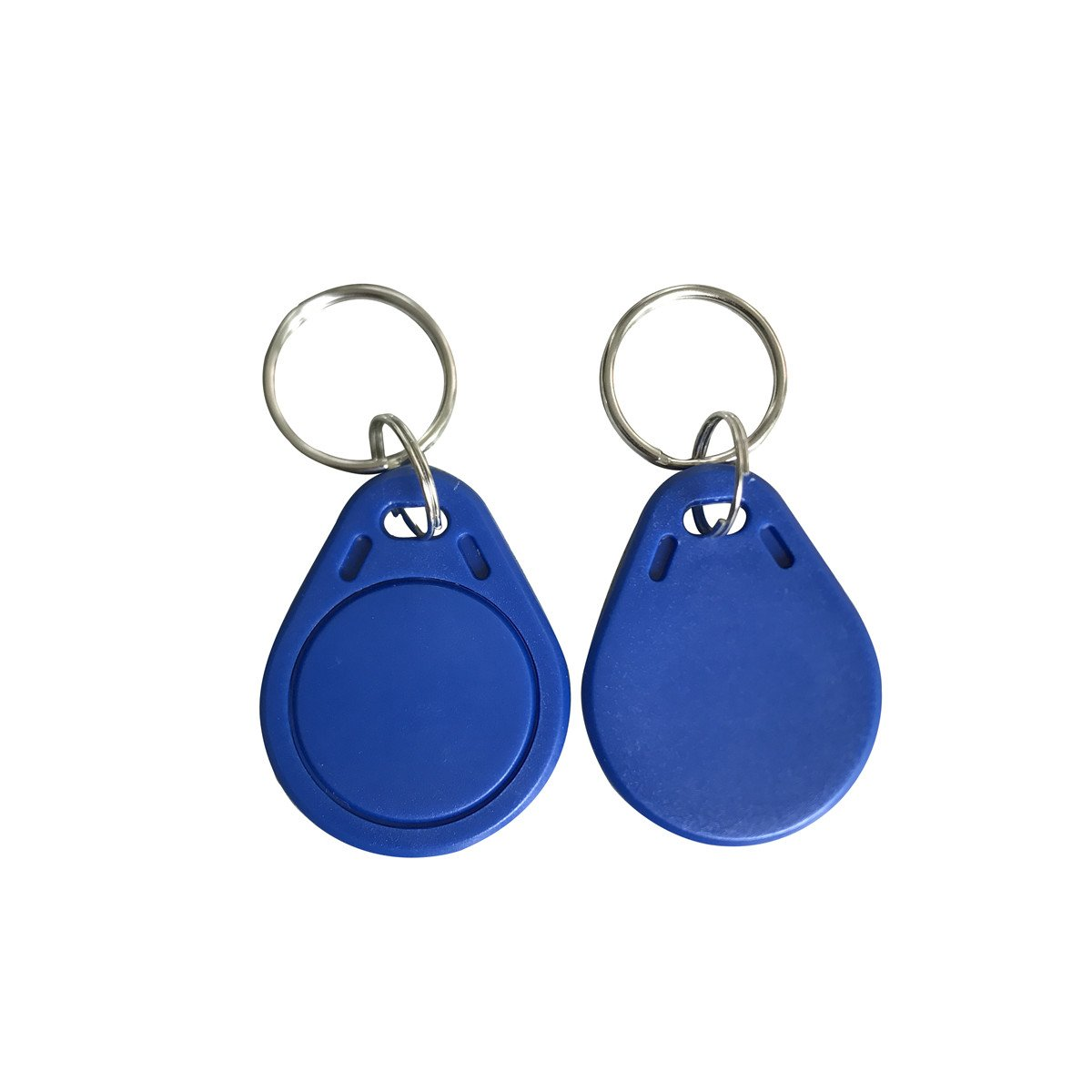 YARONGTECH 13.56MHZ MIFARE Classic 4K blue color RFID door enty access Keyfob Tag Work With RC522 (pack of 10)