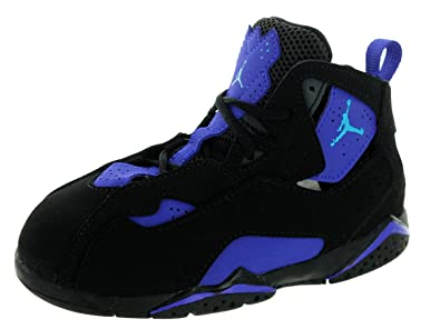 7120514e461 Image Unavailable. Image not available for. Color: Nike Jordan Toddlers Jordan  True Flight Bt Black/Bl ...