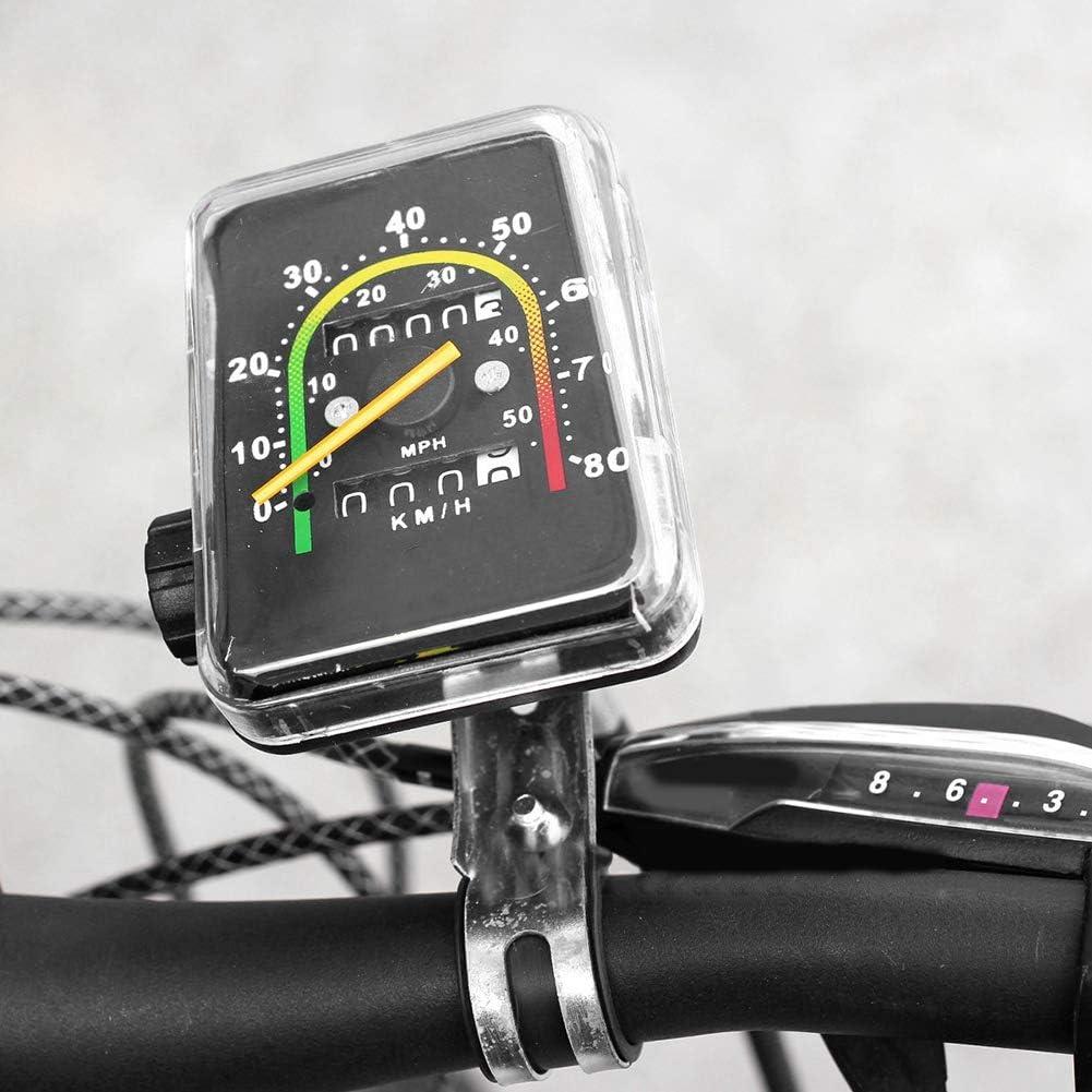 Nikou Bike Speedometer-Bike Speedometer Bicycle Computer Mountain Bike Code Meter Waterproof Mechanical Odometer