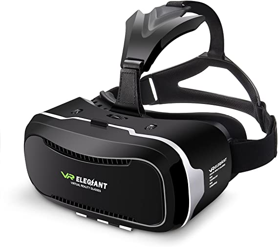 Elegiant Gd 02 3d Vr Headset Smart Virtual Reality Glasses 3d Vr Glasses Home Theatre Helmet Headset For Iphone 6s 6 Plus 6 5s 5c 5 Samsung Galaxy S5 S6 Note4 Note5 And Any 4 0 6 1 Inch Smartphone Amazon Ca Cell Phones