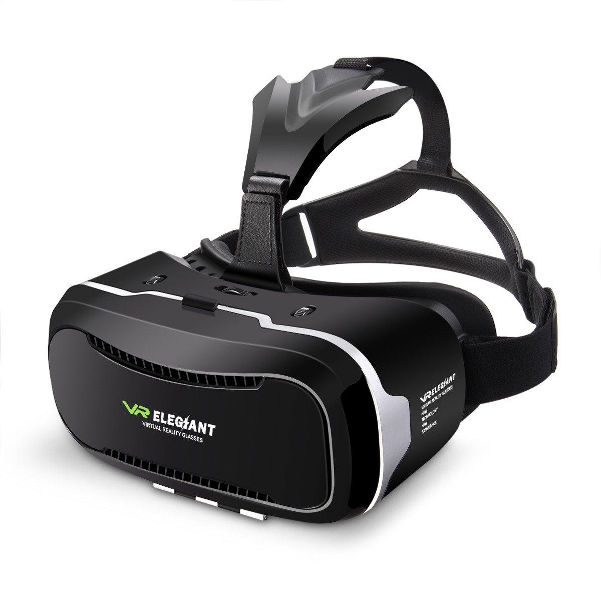 Virtual Reality Headset, ELEGIANT 3D VR Glasses Virtual Reality Box for 3D Movies Video Games for iPhone 8 7 6 6s Plus Samsung S8 S7 S6 Edge S5 Note 5 and Other Smartphone - 2nd Generation VR Headset