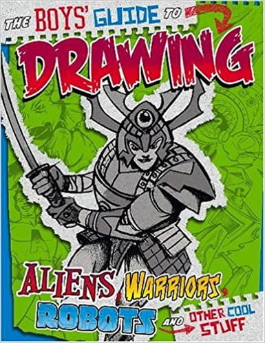 amazoncom boys guide to drawing drawing cool stuff 9781429629171 aaron sautter books - Drawing Books For Boys