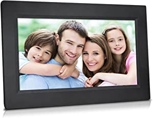 """10"""" True Cloud Frame with Editable Cloud Albums, 20GB Free Cloud Storage, Computer or APP Remote Manage, Easy Setup, Full Features & Functions, advanced technology than WiFi frames, quality guaranteed"""