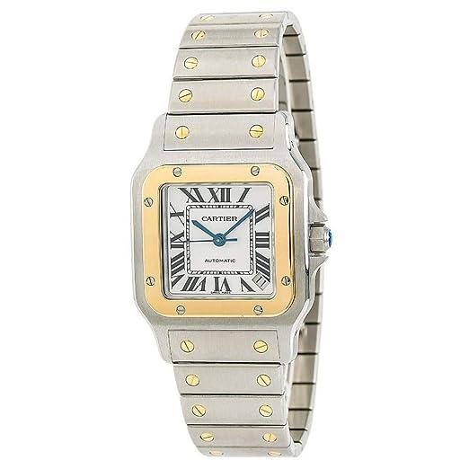 Cartier Santos Galbee - Reloj automático de Pulsera para Hombre W20099C4 (Certificado de autenticidad)