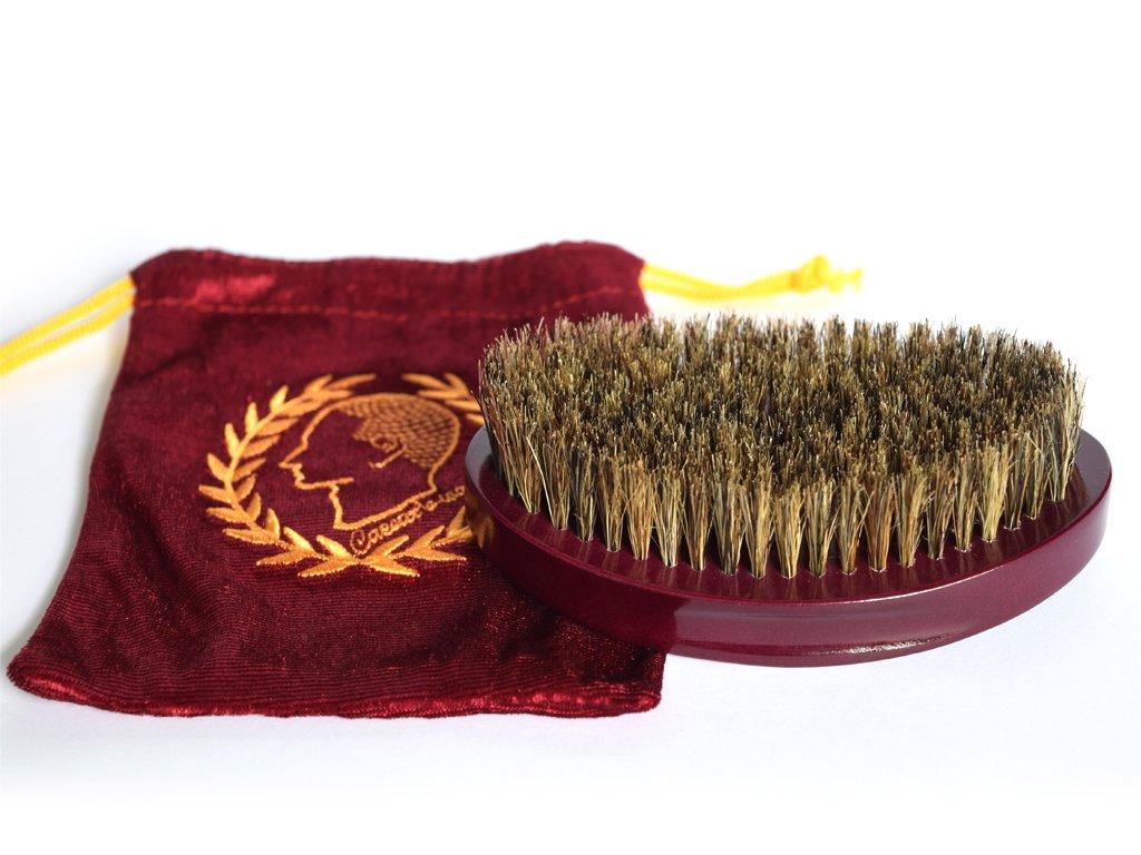 Caesars wave brush 100bc premium palm brush, medium/soft xoticrown