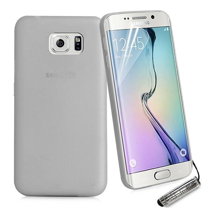 Easyplace La Carcasa del Carcasa para el Tipo Samsung S6, Gris