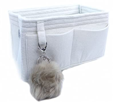 65d893f436c3 Felt Handbag Organizer by Original Club - LV Speedy 30 - Style 2-Antique  White
