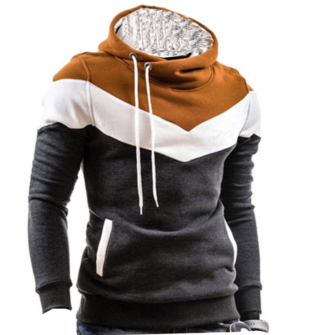 Cozy Age Men's Pullover Fleece Hoodies