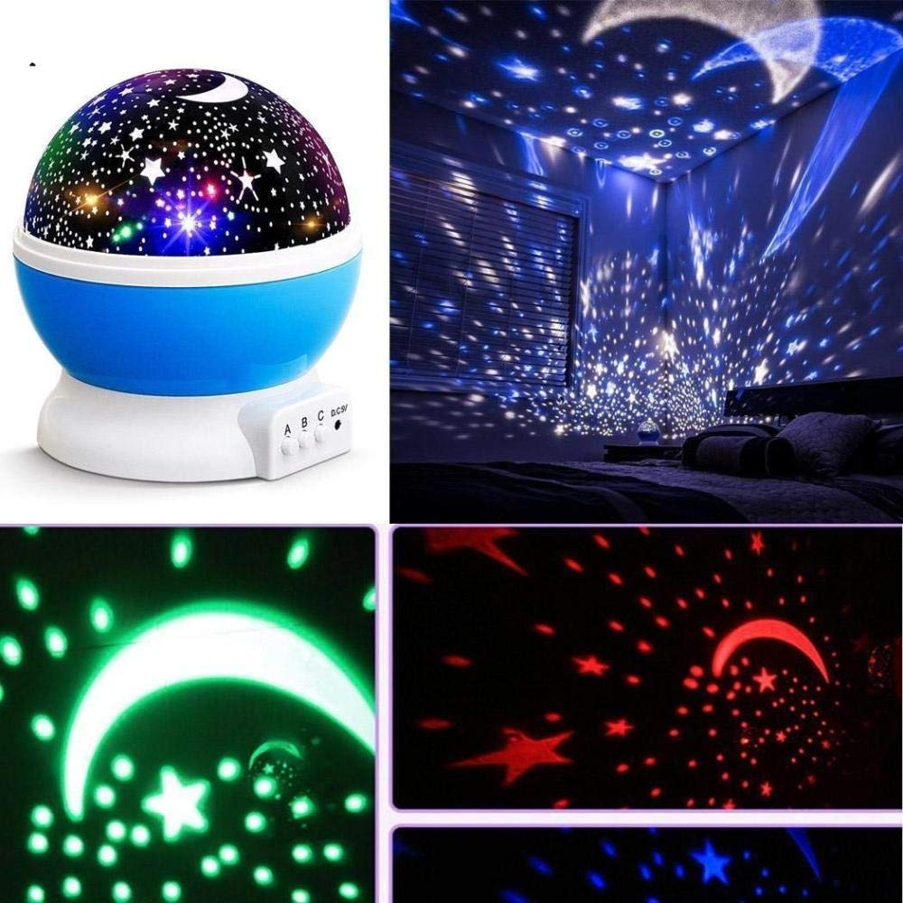 Star Projector Adulto Cosmos KTV Light LED Moon Kid Proyector Uso ...