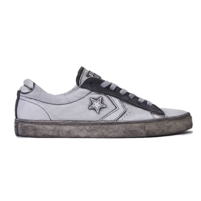 b2cb9d810ed9b0 CONVERSE Men s Gymnastics Shoes white Size  4.5