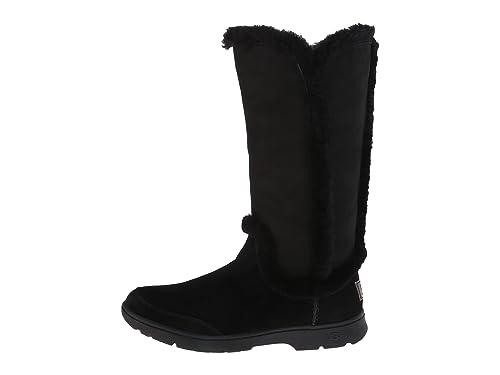 192a0294b88 UGG Australia Katia Women's WP Suede Plush Seam Boot (5, Black ...