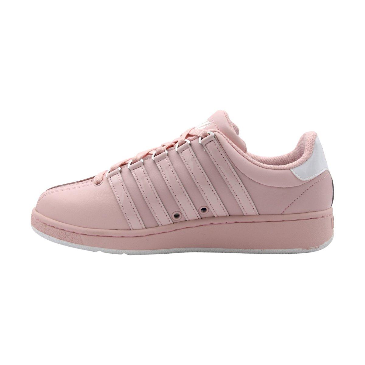 K-Swiss Women's Classic Vn Sneaker B01M09QMIG 7 B(M) US|Potpourri/White