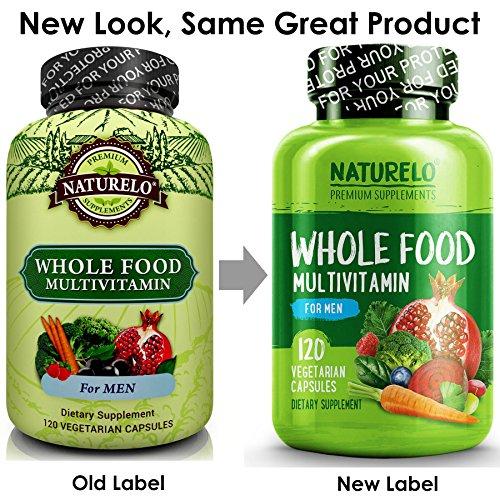 Naturelo Whole Food Multivitamin For Men 1 Ranked