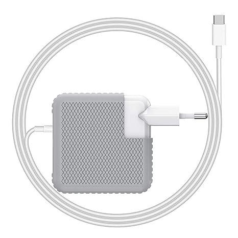BETIONE Cargador USB C Type C PD USB C Cargador 61W Cargador Mac para Mac Book Pro 13