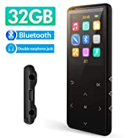 Mus Run 32GB Mp3 Player with Bluetooth 5.0 Deals