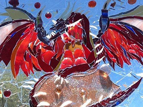 Dragon Stained Glass Window Art Sun catcher
