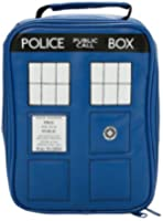 Doctor Who Police Tardis Navy Blue Insulated Lunchbox Cooler Bag