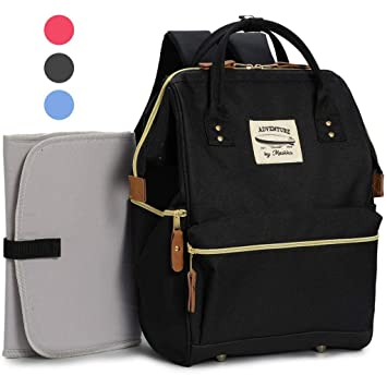 76eeb63ab401 Amazon.com   Wide Open Designer Baby Diaper Backpack By Moskka ...