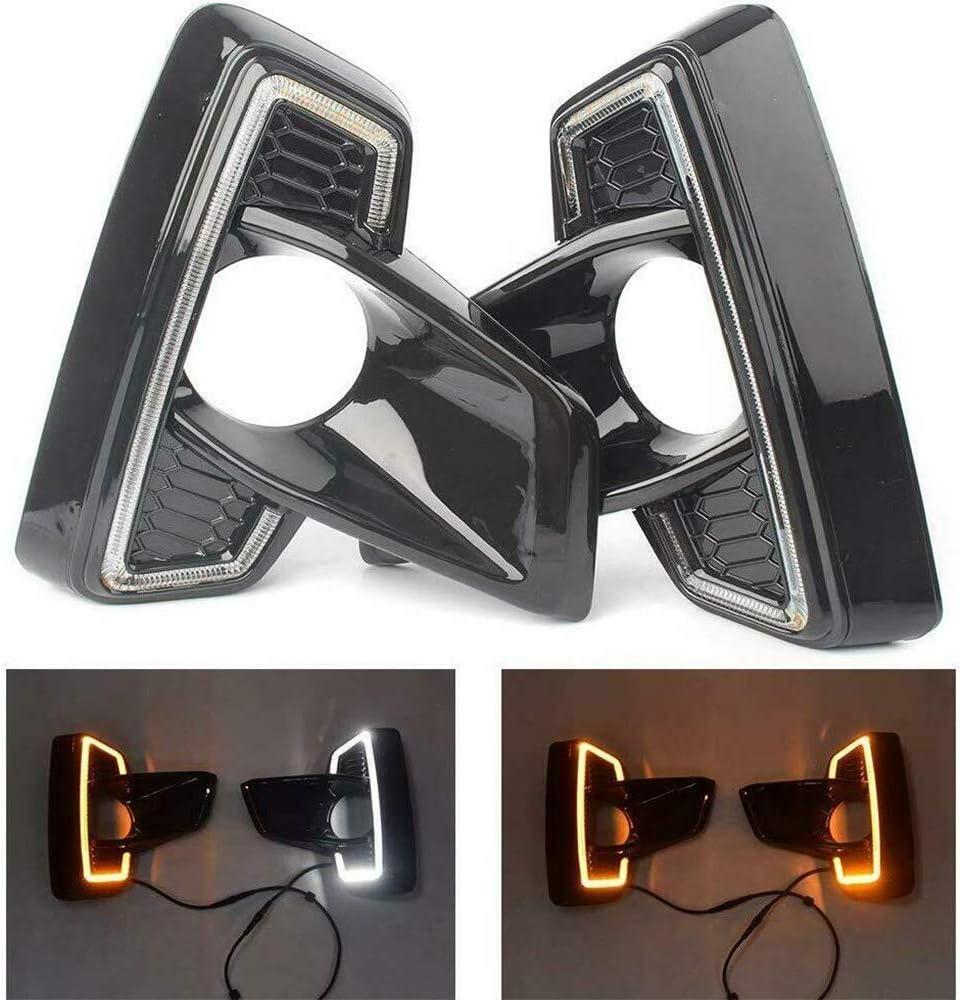 Auto-Licht-LED Tagfahrlicht DRL Nebel-Lichter f/ür Hilux Revo Rocco