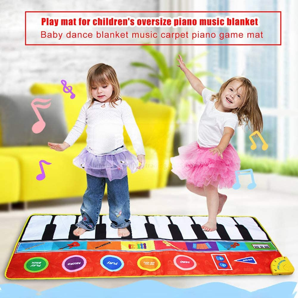 animals dancing blankets with light pedals HBKOLEP Childrens music baby games we22