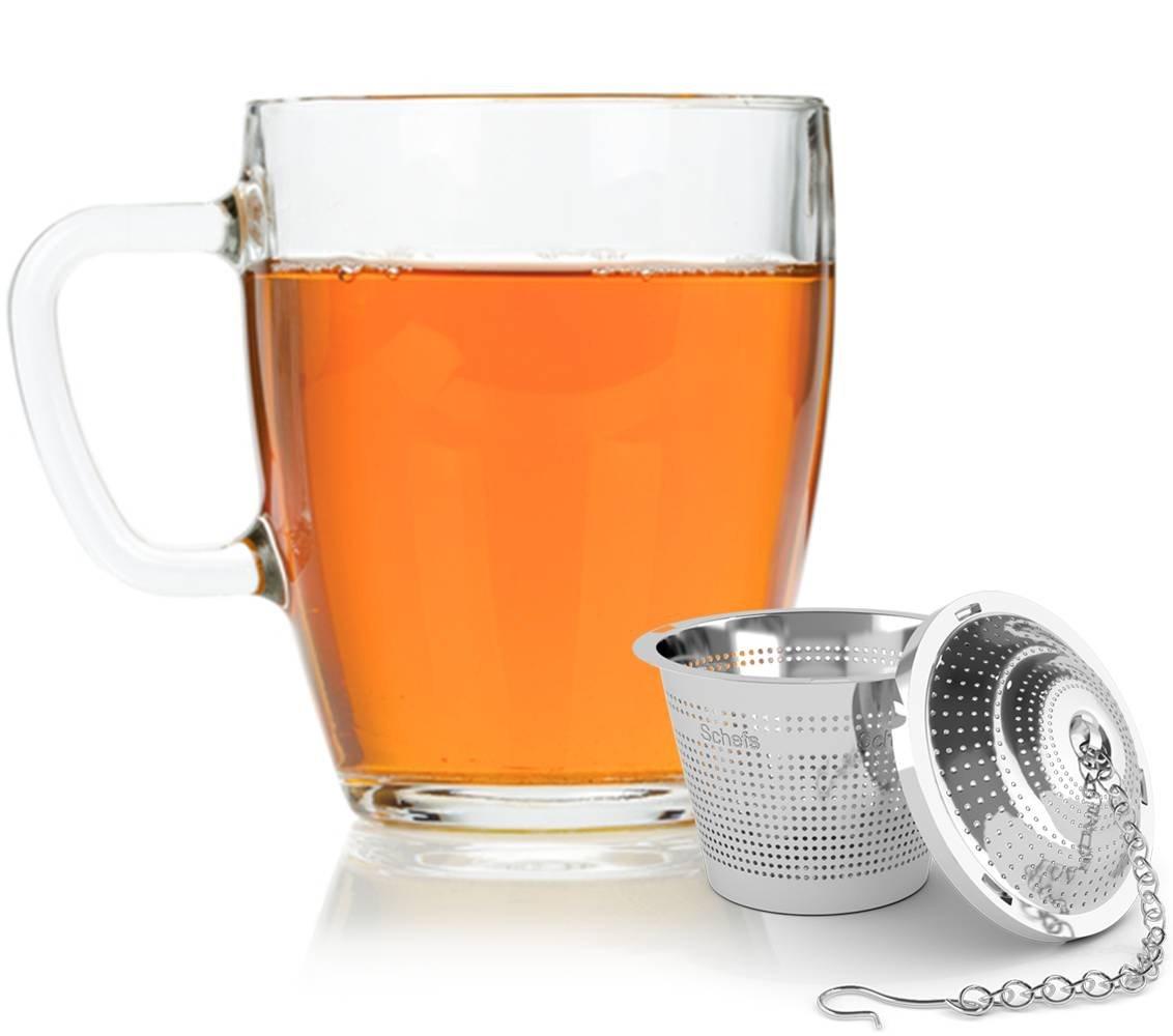 galleon schefs premium tea infuser stainless steel. Black Bedroom Furniture Sets. Home Design Ideas